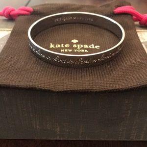 Kate Spade Idiom Silver bangle